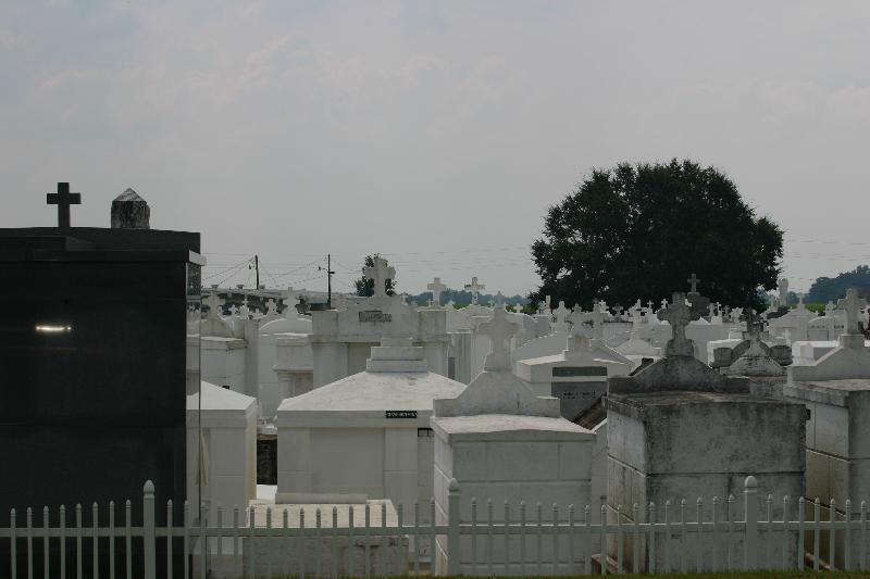 Cemetery at St. Mary's Nativity Catholic Church