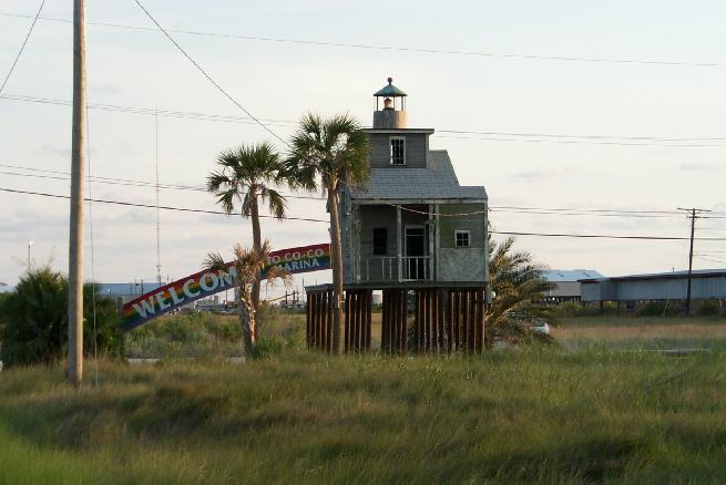 Cocodrie Lighthouse