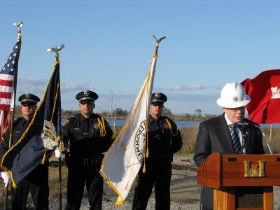 Ground Breaking for Non-Federal Levee